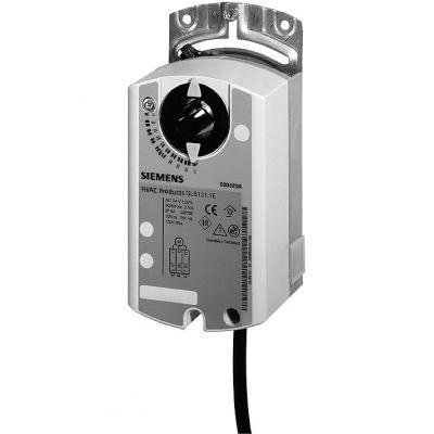 SIEMENS GLB161.1E - Привод воздушной заслонки, поворотный, 24 В / DC 0…10 В, 10 НМ, 150 С