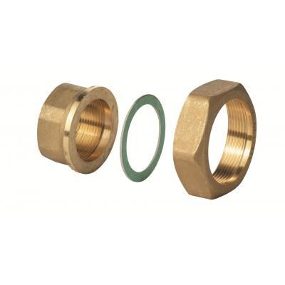 "SIEMENS ALG202B - Фитинг латуннуй G1 1/4 "" / RP  3/4 "", 100 °C, комплект из 2 шт."