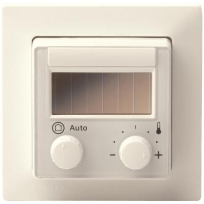 Комнатный модуль с интерфейсом EnOcean, с задатчиком уставки, кнопкой и переключателем, 55 x 55 мм QAX97.4
