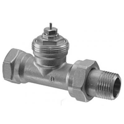 SIEMENS VDN115 - Клапан радиаторный, 2-ходовой седельный, DIN, 2-Х ТРУБНАЯ СИСТЕМА, PN10, DN15, KVS 0.10..0.89