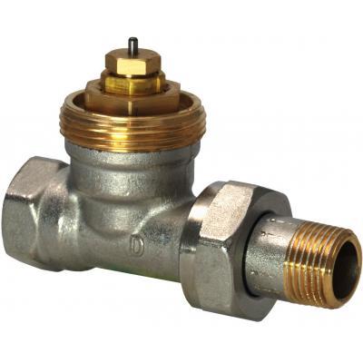 SIEMENS VDN215 - Клапан радиаторный, 2-ходовой седельный, NF, 2-Х ТРУБНАЯ СИСТЕМА, PN10, DN15, KVS 0.10..0.89