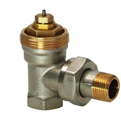 SIEMENS VEN210 - Клапан радиаторный угловой, 2-ходовой седельный, NF, 2-Х ТРУБНАЯ СИСТЕМА, PN10, DN10, KVS 0.09..0.63