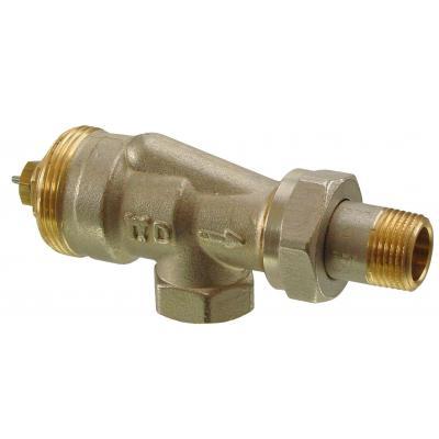 SIEMENS VUN215 - РЕВЕРСИВНЫЕ Клапан радиаторный угловой, 2-ходовой седельный, 2-Х ТРУБНАЯ СИСТЕМА, PN10, DN15, KVS 0.13..0.77